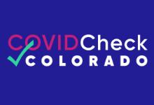 covid check logo