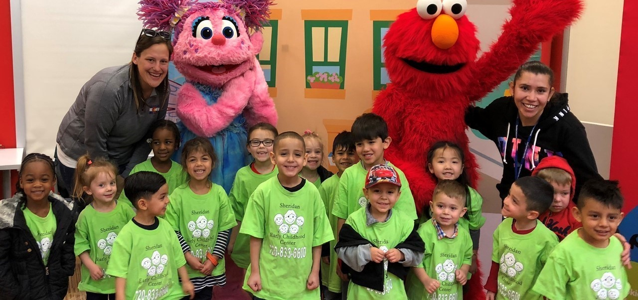 sesame street at the library