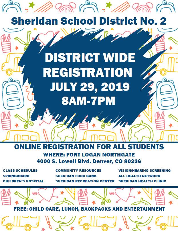 Registration flyer English