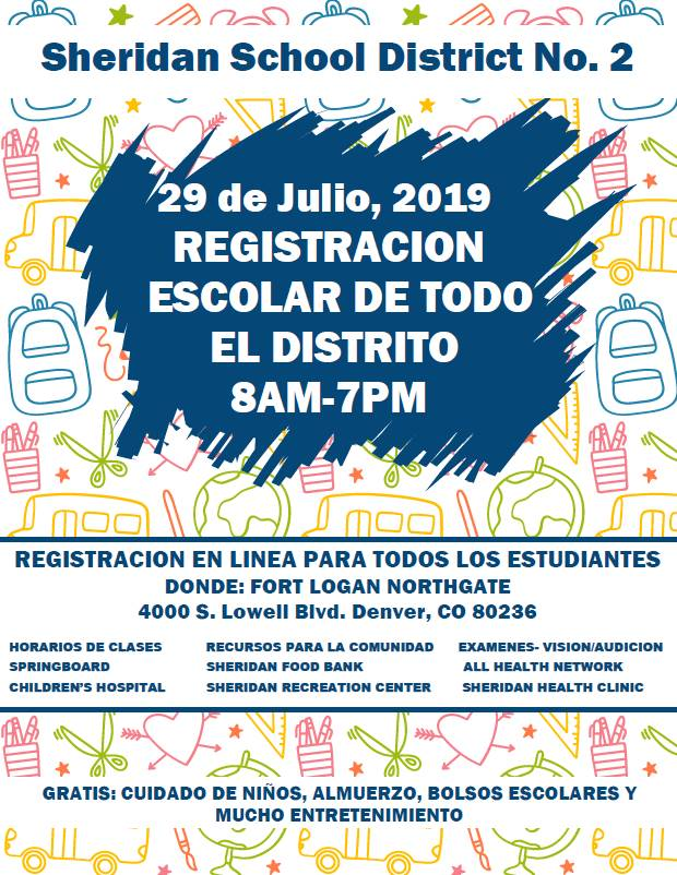 Registration Flyer Spanish