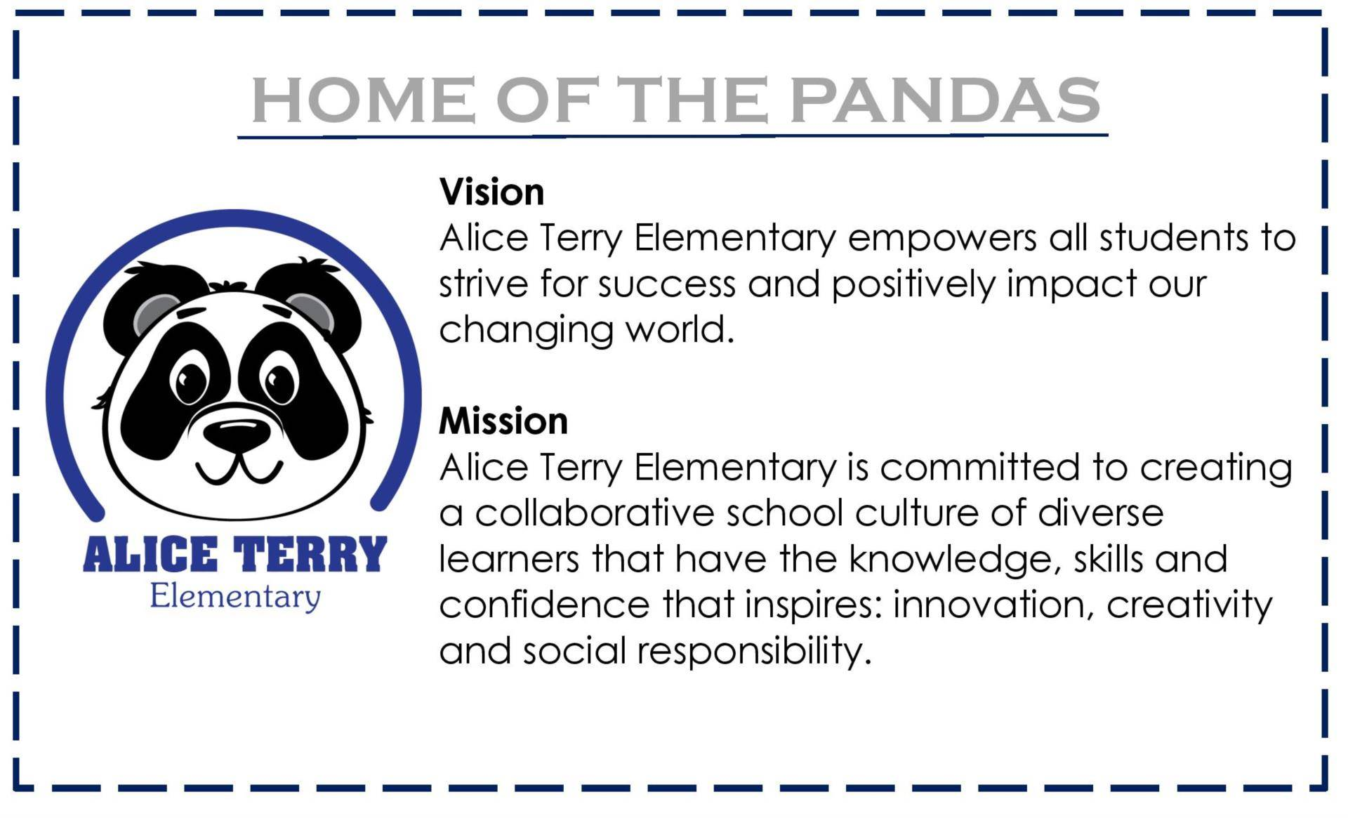 Vision and Mission of School