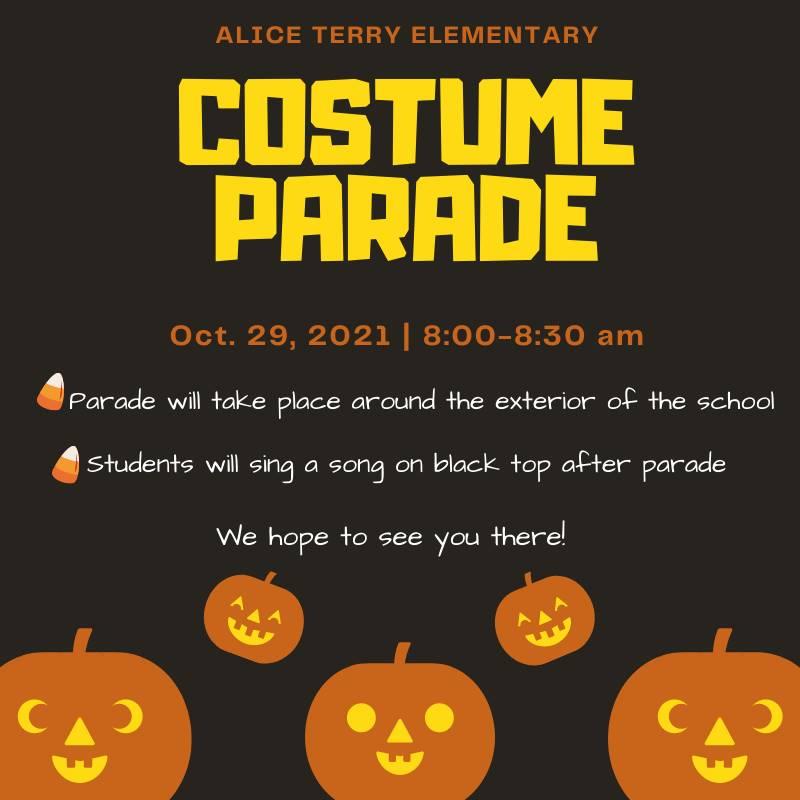 Costume parade english