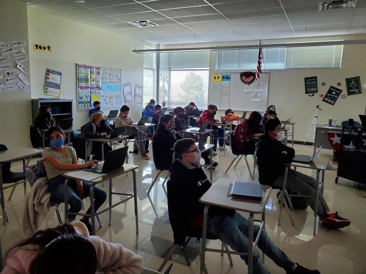 8th Grade Return to In-person